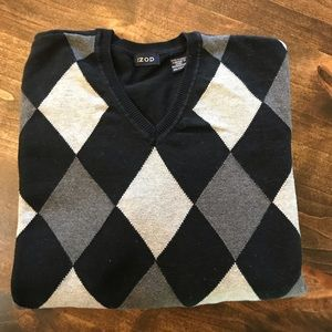 Men's' Izod argyle sweater